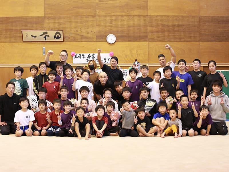 神埼ジュニア新体操クラブ卒団式