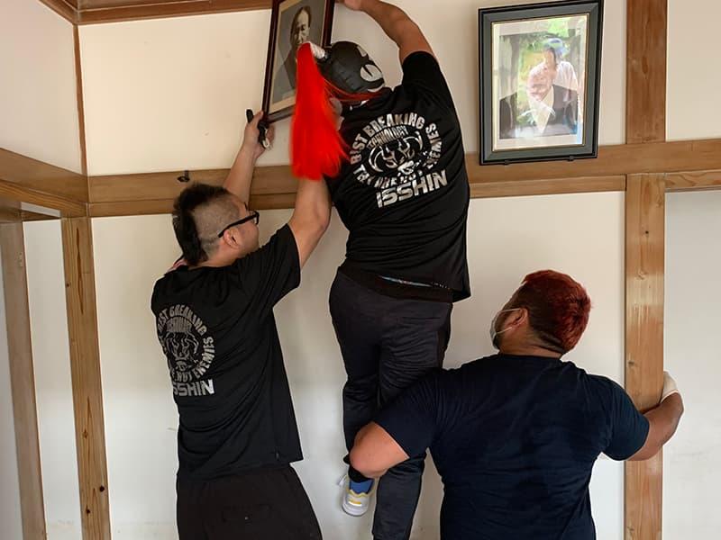 2019年佐賀県豪雨被害被災地ボランティア・被災病院への慰問